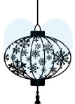 So Suzy Stamps Small Snowflake Lantern
