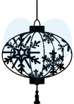 So Suzy Stamp Snowflake Lantern
