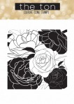 Rose Garden Cling Stamp