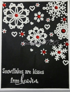 Snowflakes are Kisses